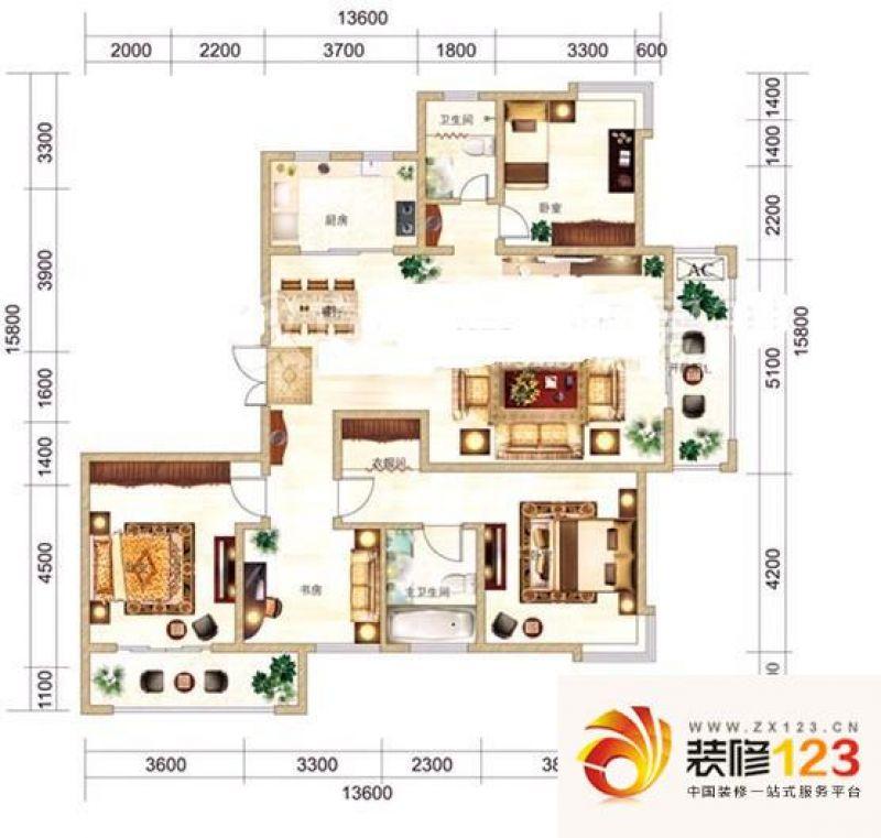 武汉未来海岸别墅未来海岸别墅 户型图图片大全-我的
