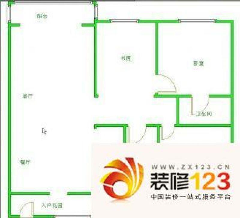 青岛裕鑫花园裕鑫花园 4室 户型图图片大全-我的小区