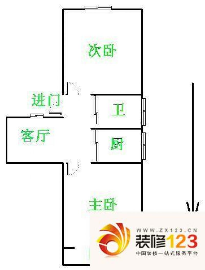 南京方圆兰庭方圆兰庭户型图户型图 5室 5室3 .图片
