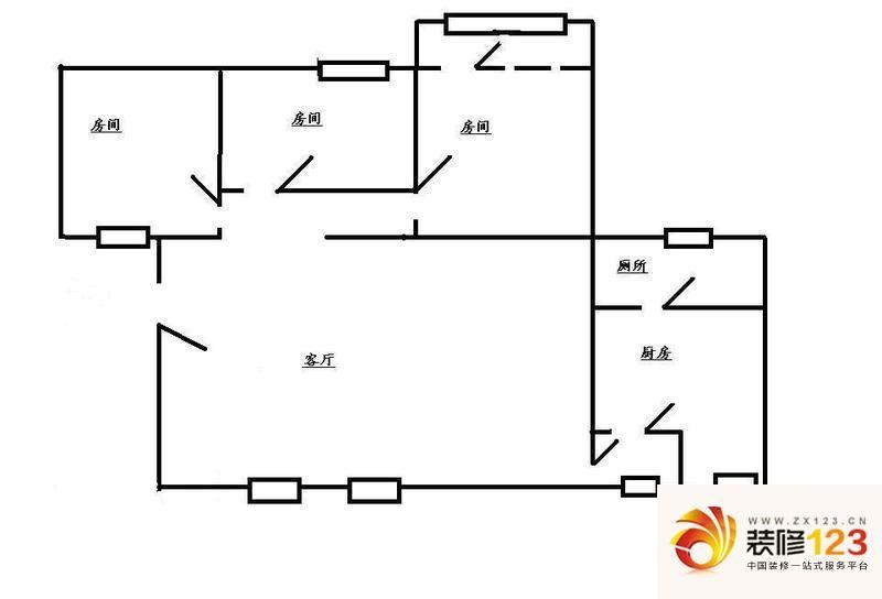 一般宿舍电路图