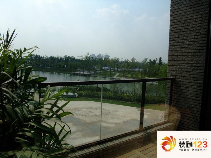 上海风荷丽景尚城别墅风荷丽景尚城别墅样板间 庭院 图片大全 我的