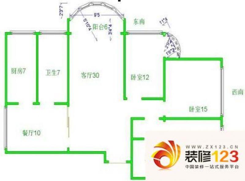 湛江市沿江华庭结构图