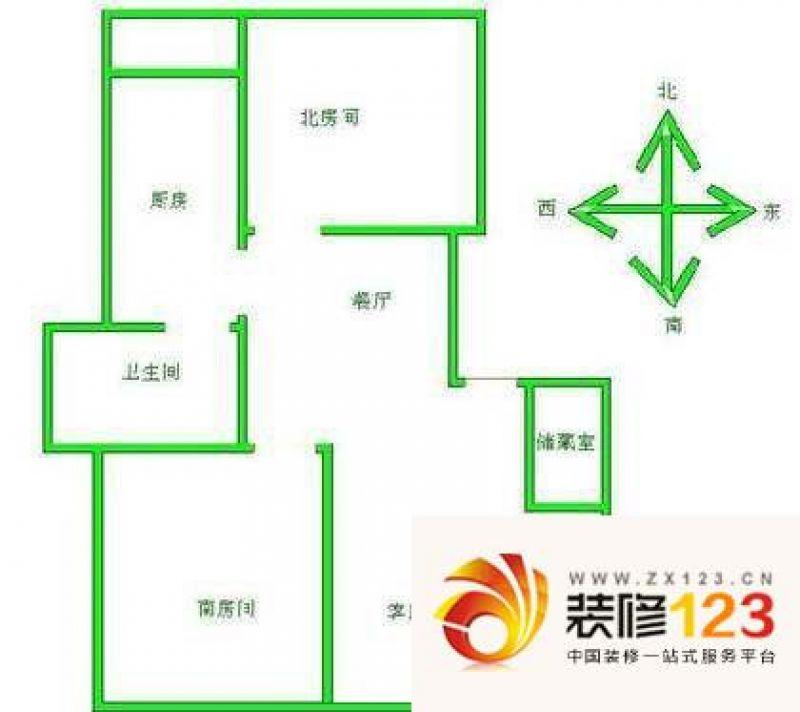 上海 锦绣苑 户型图