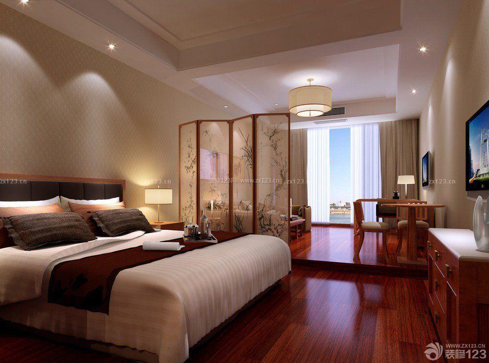 120平方房子卧室飘窗台装修设计图大赏