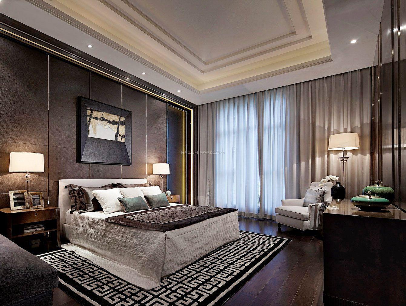 300平米港式风格房子卧室装修图片欣赏