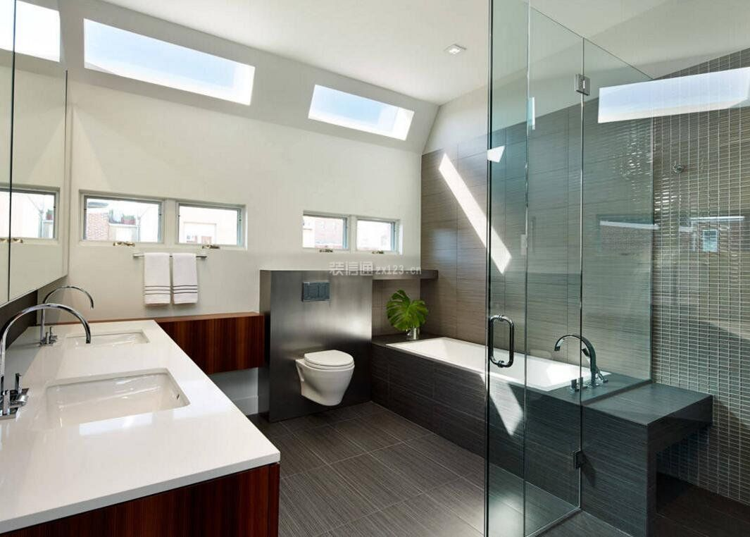 2020现代高档浴室设计图片大全