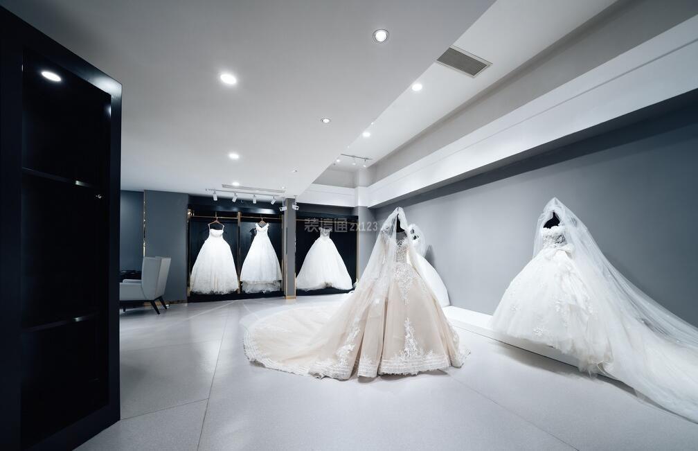 时尚婚纱店室内陈列设计图片大全