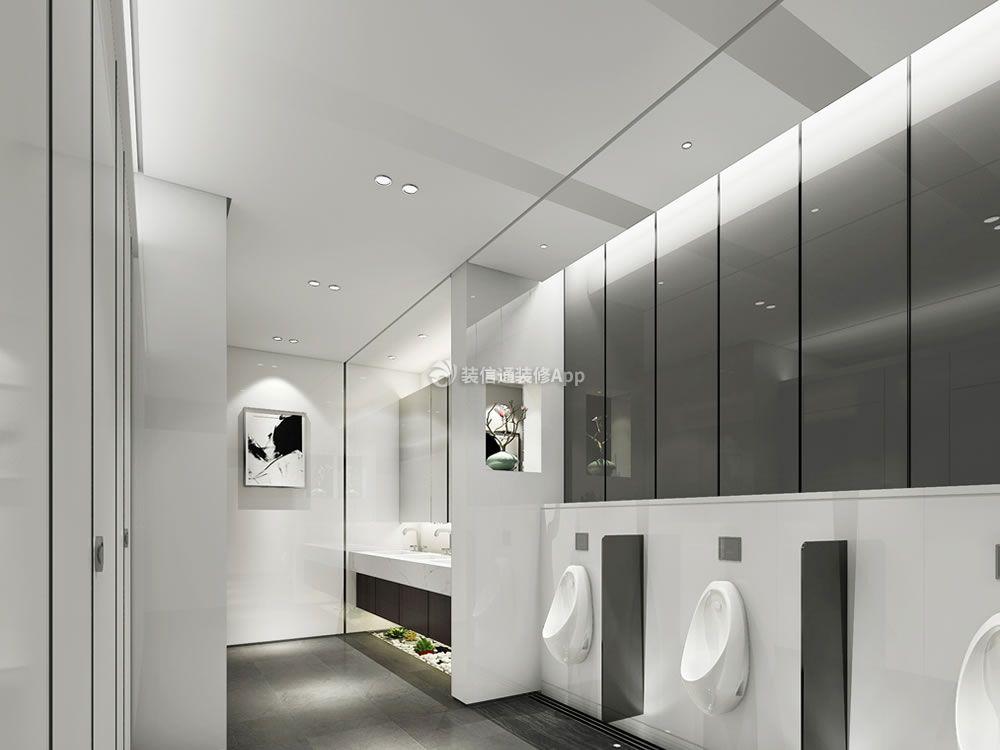 3000平米公司办公楼卫生间装修图片一览