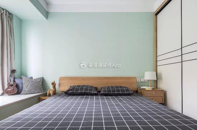 卓达龙湖上院北欧79平二居室卧室装修案例来了