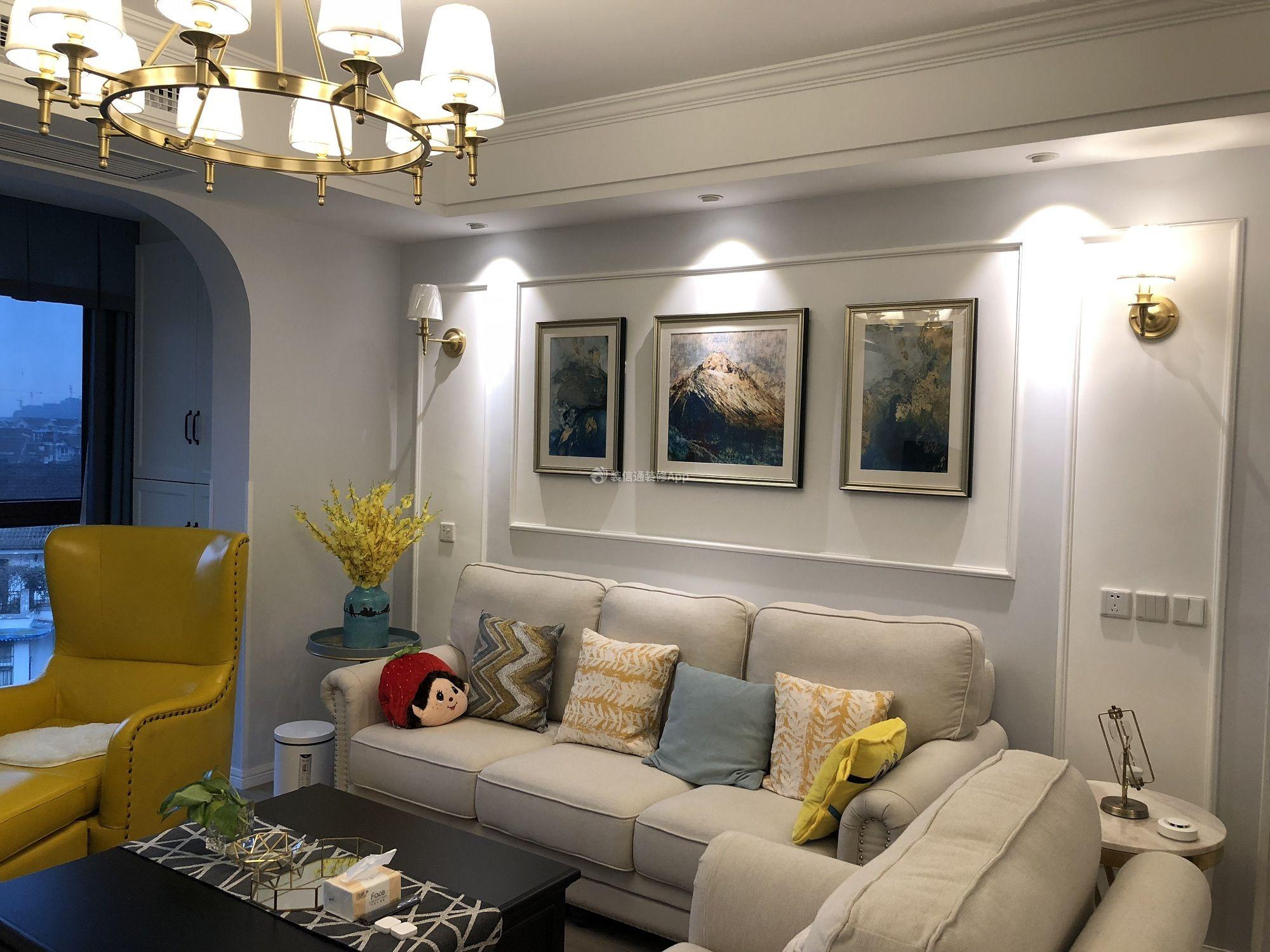 美式风格三居114平浴室装修设计效果图赏析