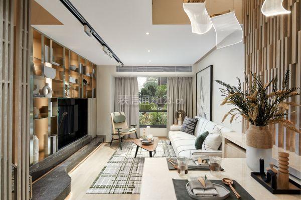 36平米小复式客厅装修效果图