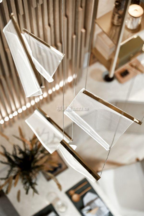 36平米小复式吊顶装修效果图