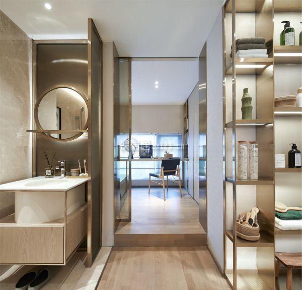 36平米小复式盥洗室装修效果图