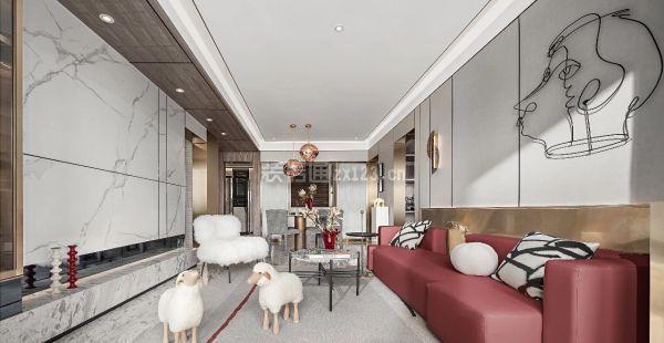 70平米小户型客厅设计