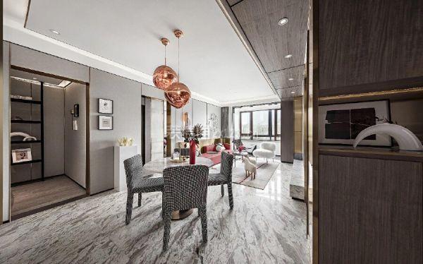 70平米小户型餐厅设计