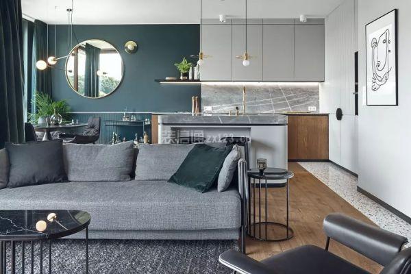 阁楼客厅设计效果图