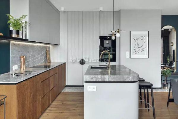 阁楼厨房设计效果图