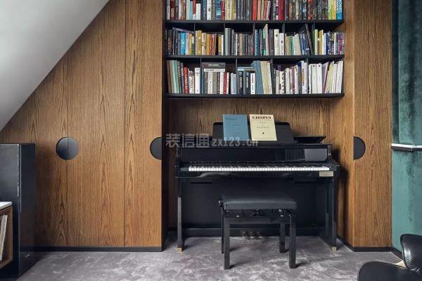 阁楼书房设计效果图