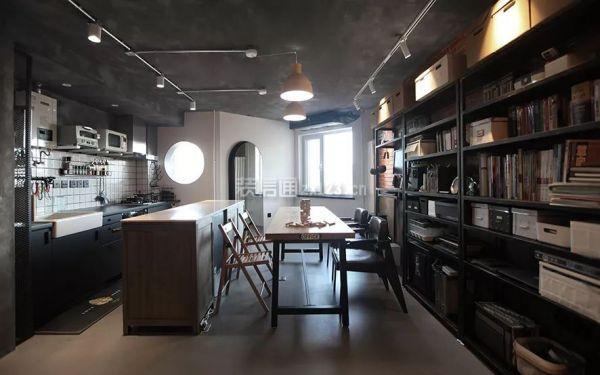 50㎡小户型餐厅厨房装修效果图