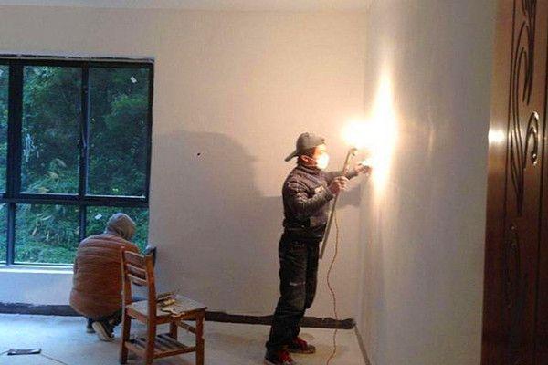 墙面施工工程