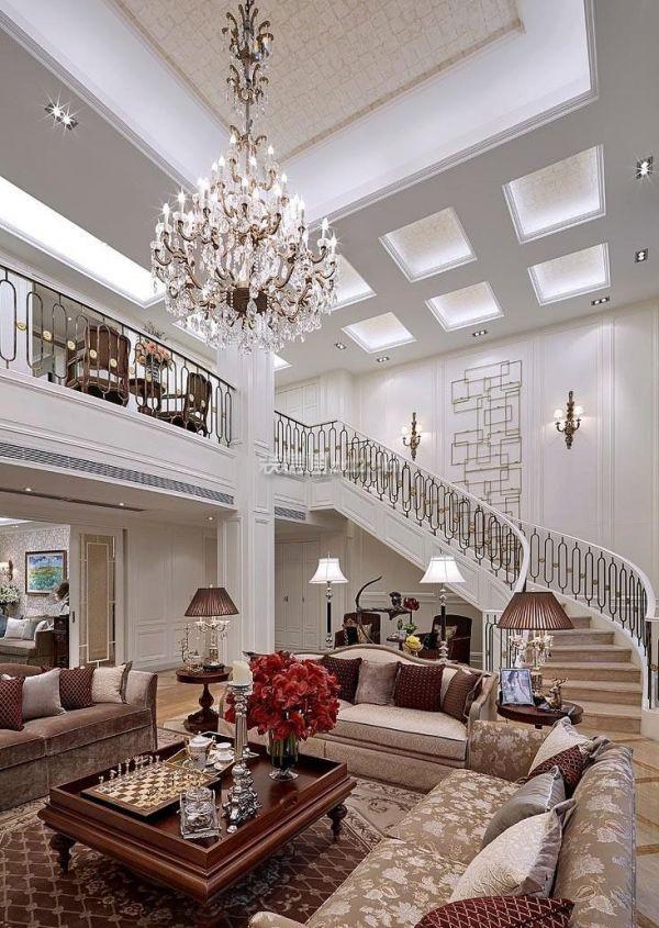 豪华别墅楼梯