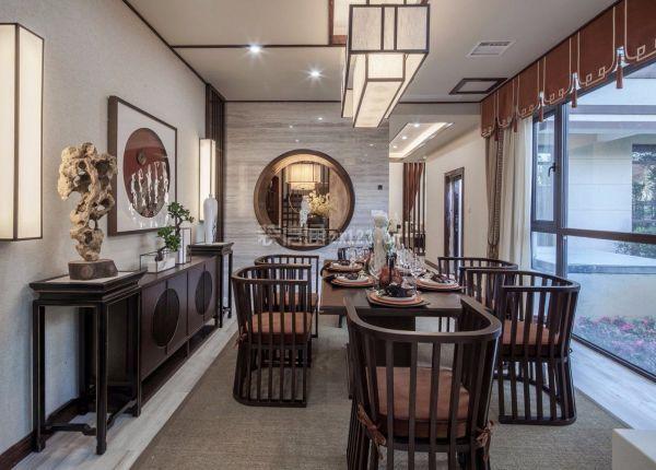 中式别墅餐厅
