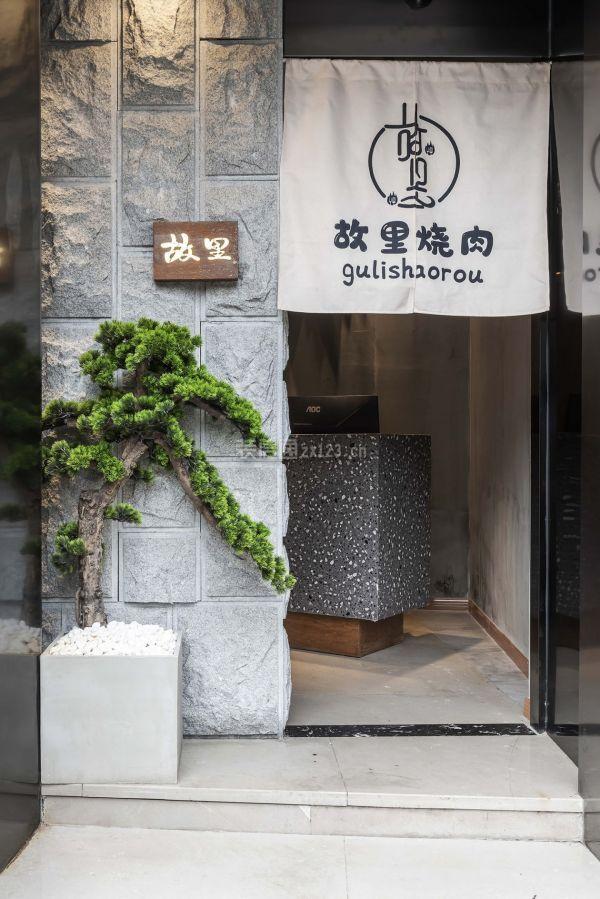 日式烤肉店设计,丰富的隔断增加在流动过程