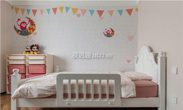 女儿房床装修设计图
