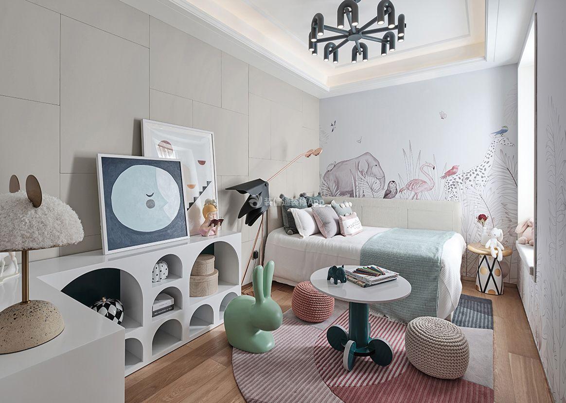 100平米三室一厅多功能儿童房装修图欣赏
