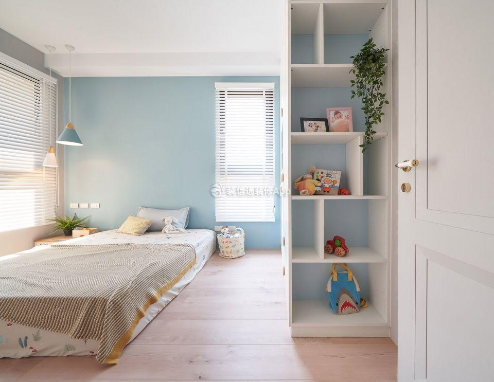 简欧风格房子儿童卧室装修布置图片欣赏