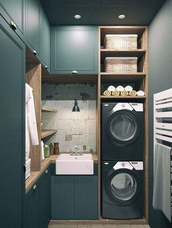 美观实用的洗衣间装修,真正方便我们的家居生活