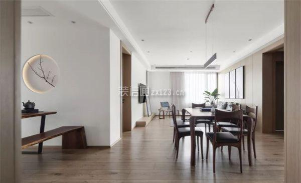 145㎡三居室,打造开放式新中式风格