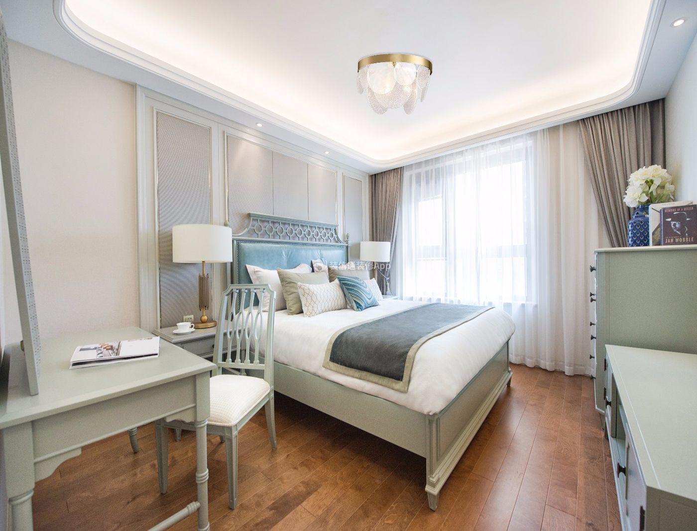现代美式房屋卧室装修效果图欣赏