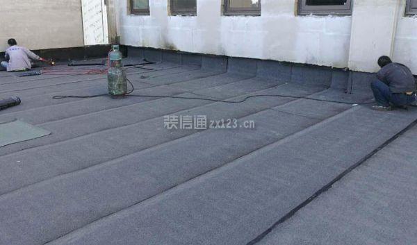 屋顶防水装修效果图